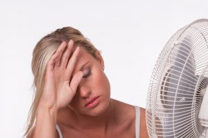 woman-electric-fan